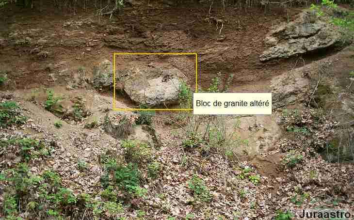 Arène granitique de la Serre
