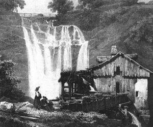 Marbre du Saut Girard (Hérisson) - 1826