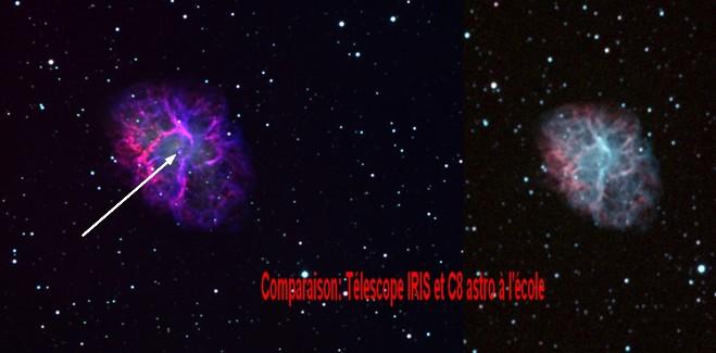 astro projet iris 1