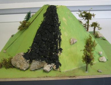 acheter maquette de volcan