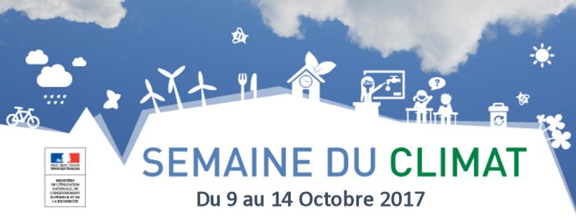Des ressources numériques pour accompagner la Semaine du climat