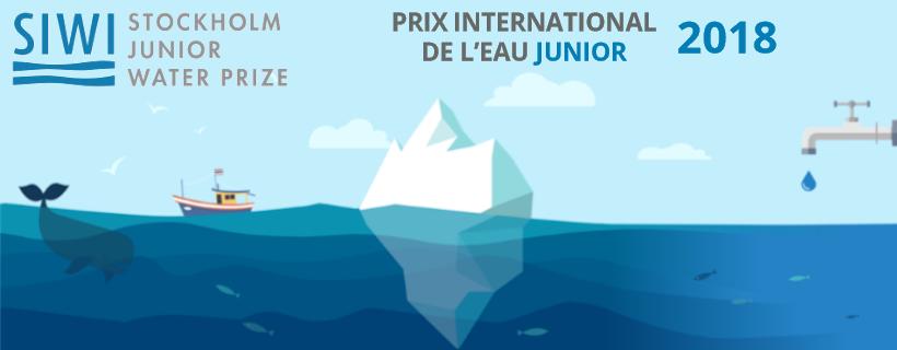 Prix international de l'eau Junior 2018 pour les lycéens