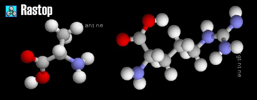 Rastop Afficher plusieurs molécules
