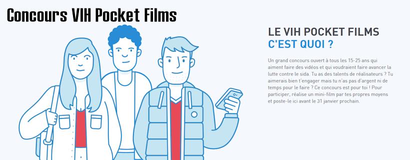 Concours VIH Pocket Films