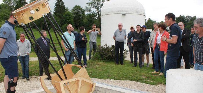 Inauguration phase 1 observatoire LAPE  8 juin 2018