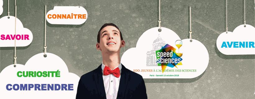 Le concours Speed sciences 2018 est ouvert !