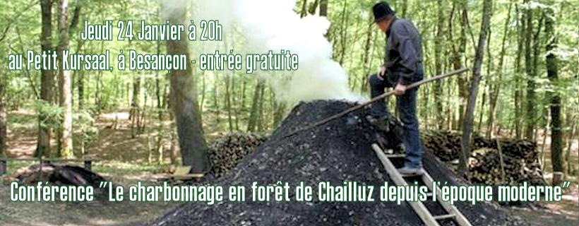 Conférence «Le charbonnage en forêt de Chailluz»