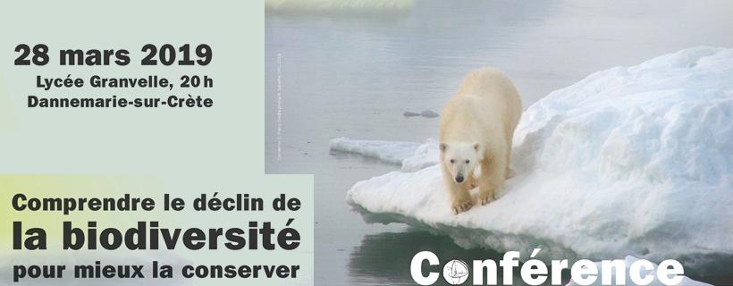 Conférence «Comprendre le déclin de la biodiversité pour mieux la conserver»