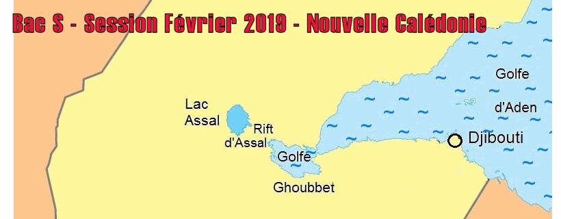 Bac S – Sujet de SVT – Session Février 2019 – Nouvelle Calédonie