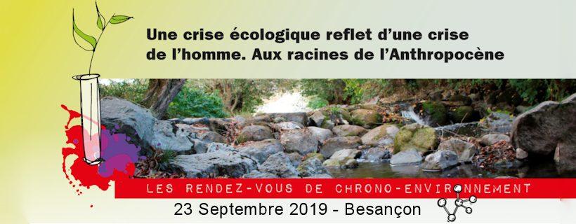 Conférence «Une crise écologique reflet d'une crise de l'homme. Aux racines de l'Anthropocène»