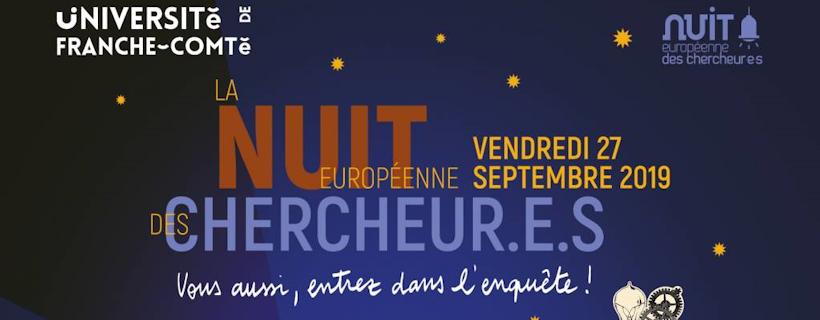 La nuit européenne des chercheur.e.s 2019