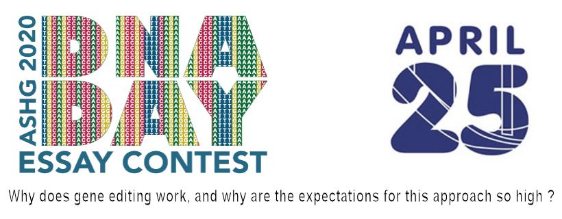 Concours européen «DNA Day Essay Contest» 2020