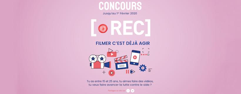 Concours «REC: Filmer c'est déjà agir»