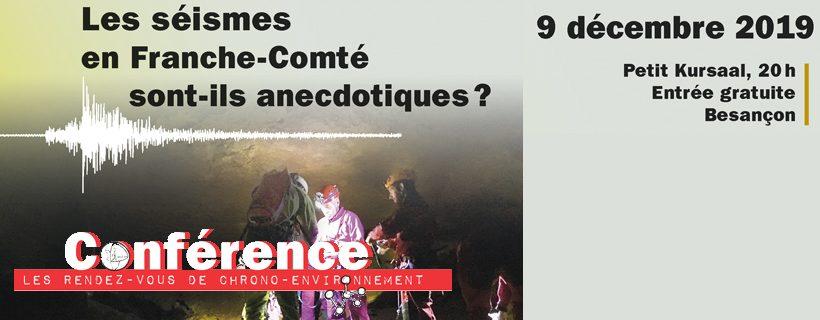 Conférence «Les séismes en Franche-Comté sont-ils anecdotiques ?»