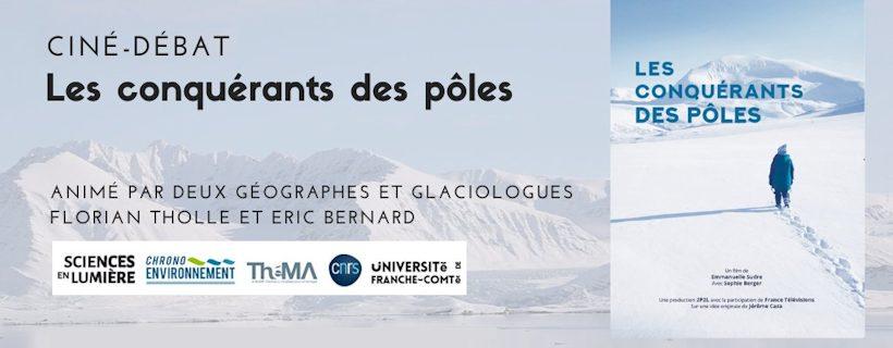 Ciné – débat «Les conquérants des pôles»