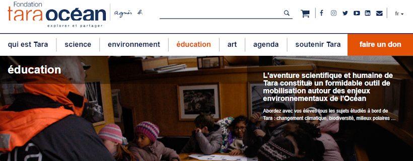Découvrir les ressources pédagogiques de la plateforme éducative de la Fondation Tara Océan