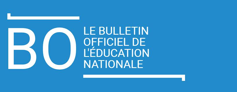Adaptation du périmètre d'évaluation de l'épreuve de l'enseignement de spécialité SVT de la classe de terminale à compter de la session 2022 – BO n°30 du 29/07/2021