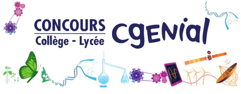 Concours « C.Génial » – Edition 2022 – Collège et Lycée